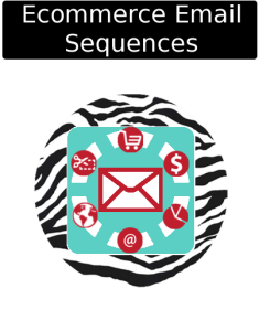 cloudy zebra ecommerce email sequences icon
