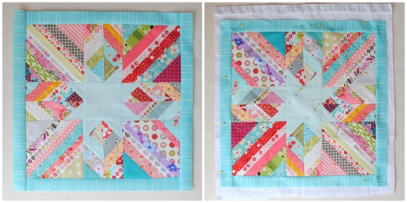 scrappy lone star quilt tutorial