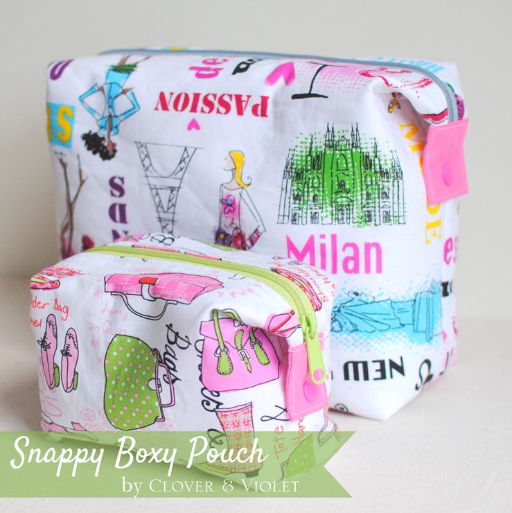 Snappy-Boxy-Pouch