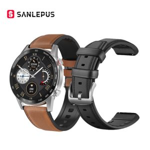 with-leather-strap