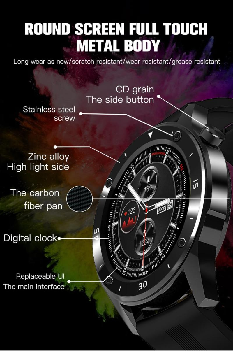 Sport Smart Watches for man woman gift intelligent smartwatch fitness tracker bracelet blood pressure android ios CLOVER JEWELLERY