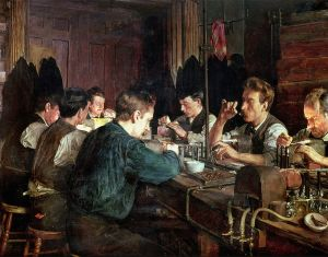 Charles Frederick Ulrich, The Glass Blowers