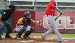 Photo by Nick Baker Buchanan's Zach Ashford can add another award to his spectacular senior year – first team all-state. The outfielder, headed to Fresno State, led Buchanan to the D1 Valley Championship this season.