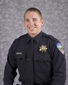 Photo contributed by the Clovis Police Department Police Officer of the Year Jeremy Edmonson