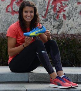 Photo courtesy of Puma Former Clovis High superstar Jenna Prandini signed a contract with Puma, signaling her decision to turn pro after a stellar college career at the University of Oregon.