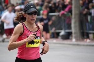 Photo by DeAnna Turner Joanna Vitale competes in one of many marathons.