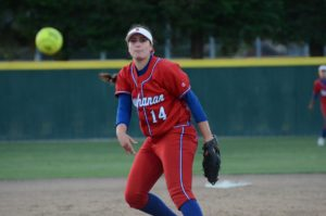 Photo by Nick Baker Another sophomore makes a splash in the TRAC, Buchanan's Molly Millar. The pitcher is 17-2 on the season and led the Bears to a TRAC title and berth in the Valley title game against defending champion Clovis.
