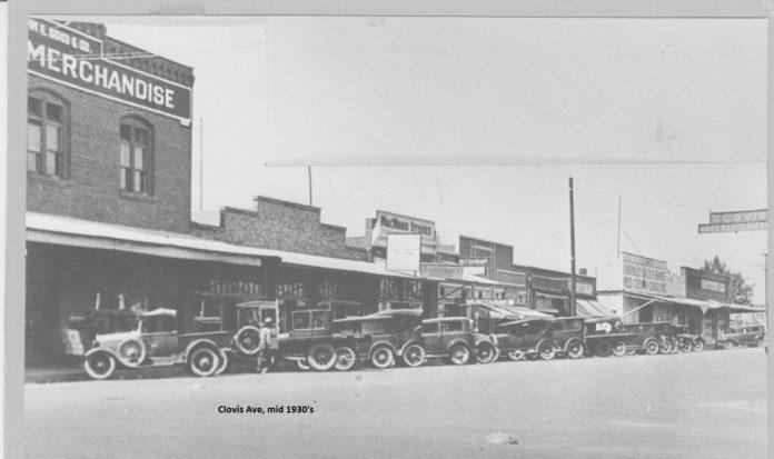 Clovis Avenue, 1930s. PHOTO CONTRIBUTED BY CLOVIS MUSEUM