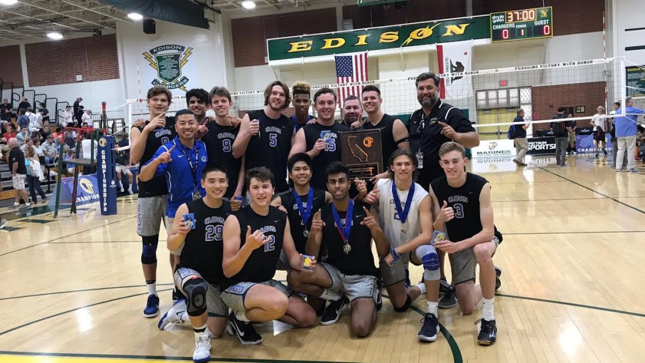 Clovis Wins Socal Boys Volleyball Title In Style Clovis Roundup