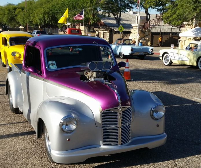 Central Valley Motorsports Golden State Classic Clovis Roundup - Paso robles car show