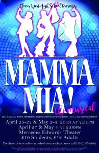 Clovis West High School Drama presents Mamma Mia! @ Mercedes Edwards Theater | Clovis | California | United States