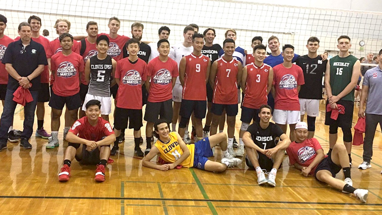 County Beats City 3 2 In Volleyball All Star Game Clovis Roundup
