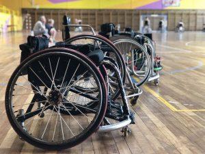 Equipo de Baloncesto de Bilbao en Silla de ruedas