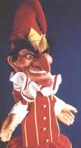 Mr. Punch- an anglicized version of the zanni Pulcinella