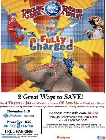 Discount for Ringling's Fully Charged