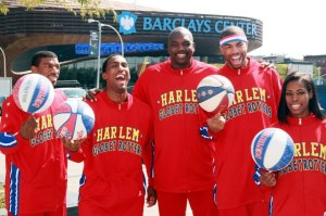 Harlem Globetrotters at the Barclay Center in Brooklyn