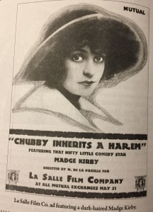 Chubby Inherits a Harem advertisement from Slapstick Divas