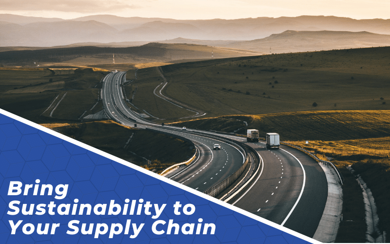Bring Sustainability to Your Supply Chain