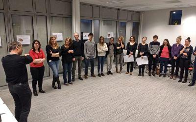 Soirée bénévoles – Organisation du Printemps Agile 2017