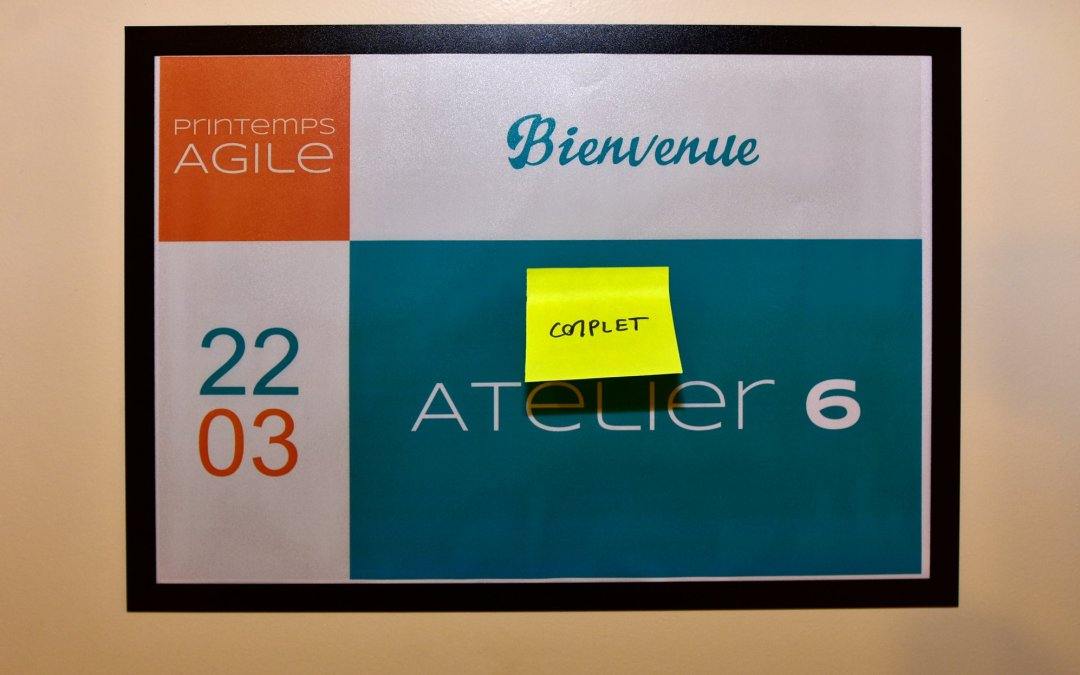 Printemps Agile 2018, 6e édition, le 22 mars – Photos et remerciements