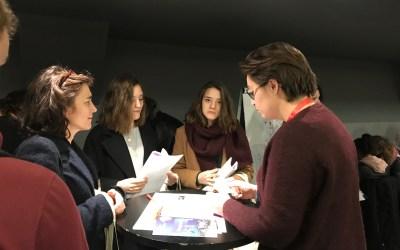 """07/02/2019, Atelier """"Crée ton métier"""", nuit de l'orientation à Caen"""