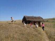 Asezare reconstruita din materiale locale