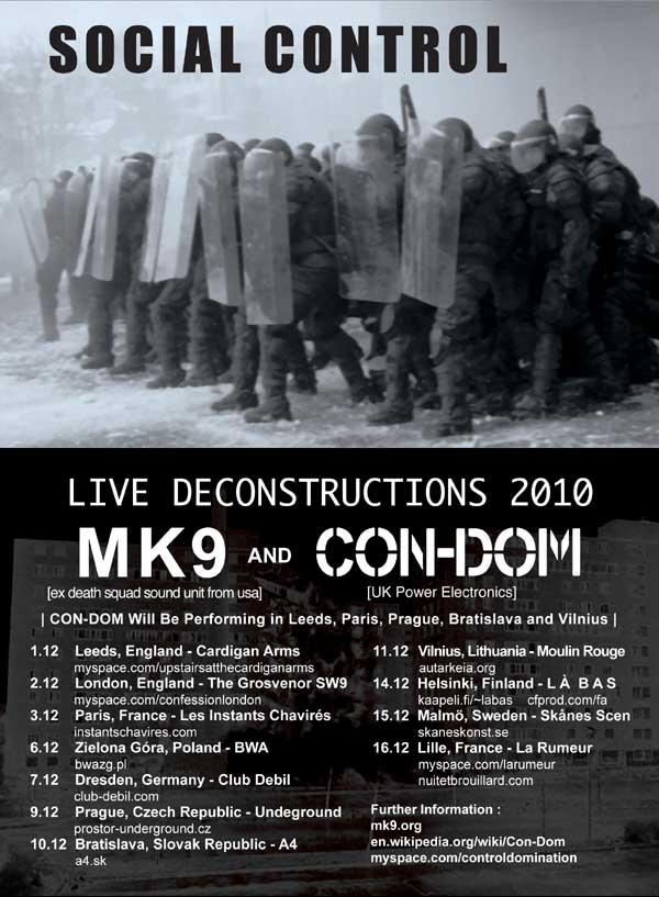 MK 9 tour