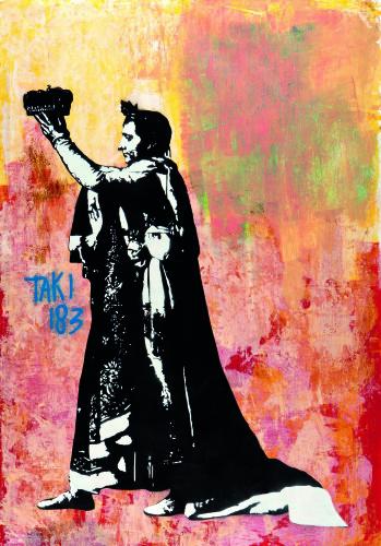 Le Sacre du graffiti par Blek le rat (c) Sybille Prou ® ADAGP, Paris