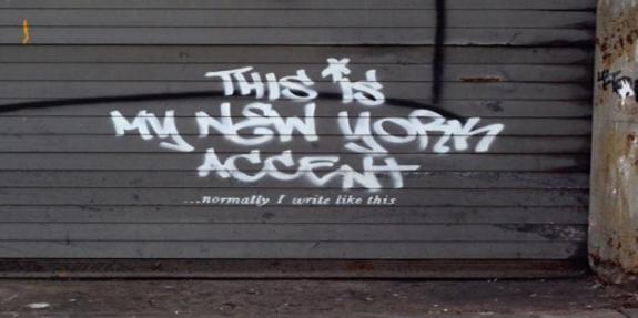 Bansky wall NYC