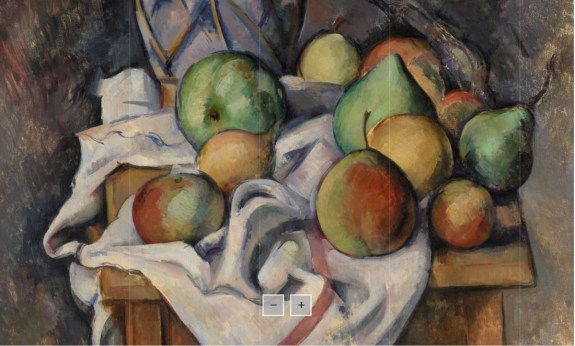 Barnes new collection website cezanne ginger zoom