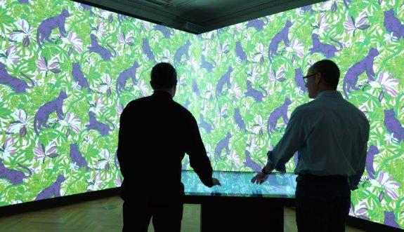 Nouvelle salle immersive du Cooper Hewitt Museum (c) Matt Flynn, Cooper Hewitt / Smithsonian Design Museum