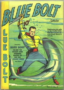 Digital comic museum blue-bolt