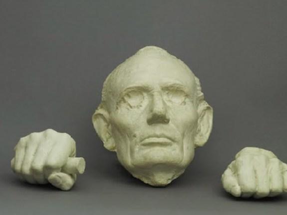 Masque du Président Abraham Lincoln (c) Google