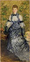 Guggenheim Museum NYC manet Woman in Evening Dress