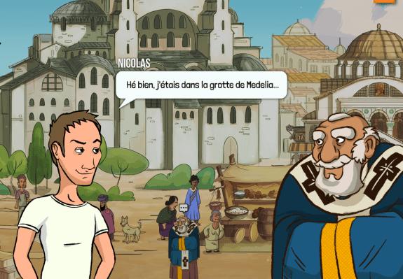 Maquette du jeu Medelia