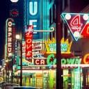 MOV néons ville