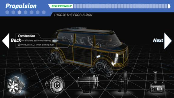 Museum victoria scienceworks car