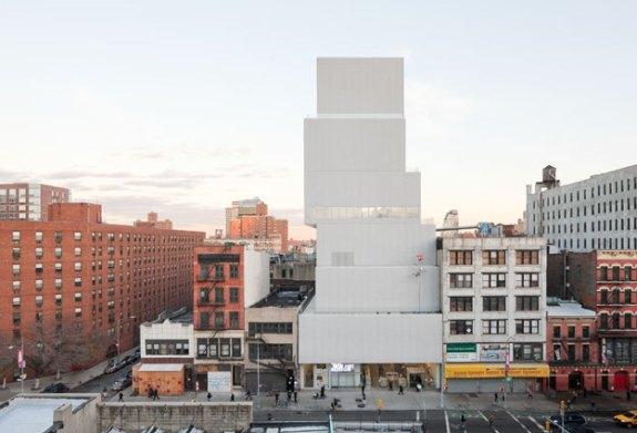 New museum facade