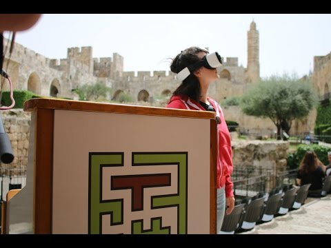 Tower of david jerusalem casque vr