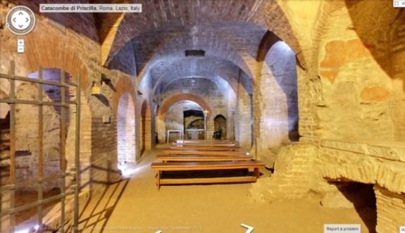 Vatican chapel-in-priscilla-catacombs_vatican_credit-google-maps-618x356