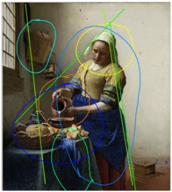 Vermeer-Laitiere-annotation