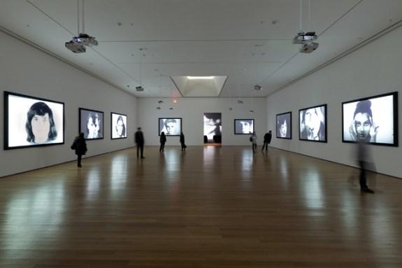 Warhol museum install3_screentests_mandella-sm_