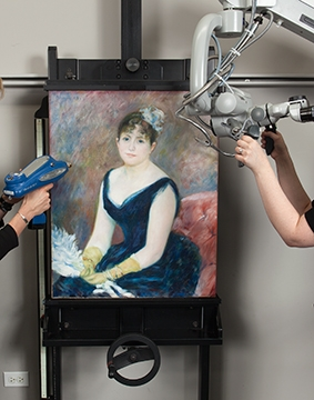 art inst chicago Renoir-True-Colors-Conservation-lab_360