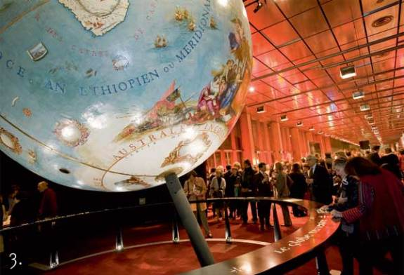 bnf globe 3