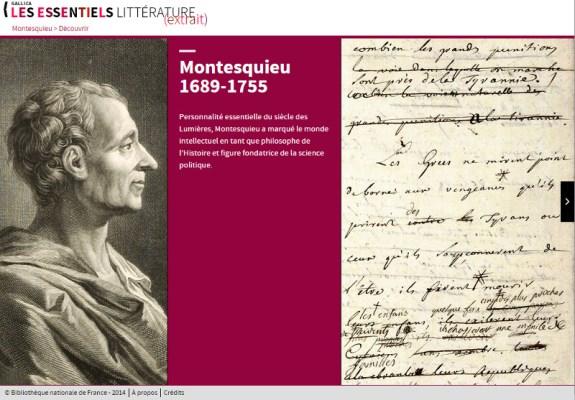 bnf site montesquieu 2