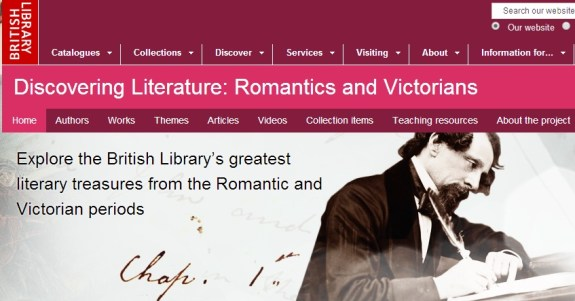 british library romantic
