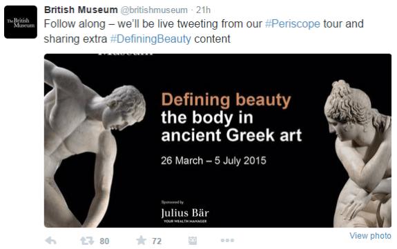 british museum twitter promo