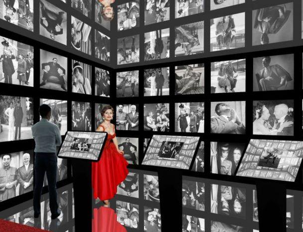 Animations interactives, zones multimédias et statues de cire ponctuent la scénographie (c) Chaplin's World