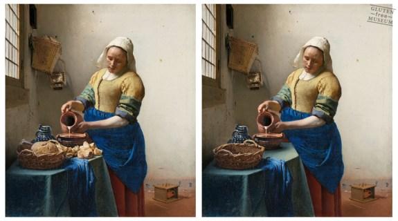 d'après Johannes Vermeer (glutenimage.tumblr.com/)