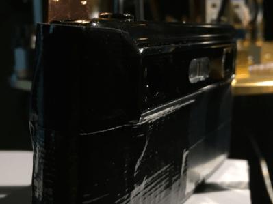 Prototype de l'appareil photo numérique 3D conçu par l'IDA